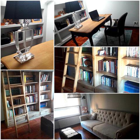 biblioteca reformado alejandraotero interiorismo home staging vigo