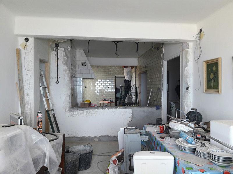 cocina reforma alejandraotero interiorismo home staging vigo