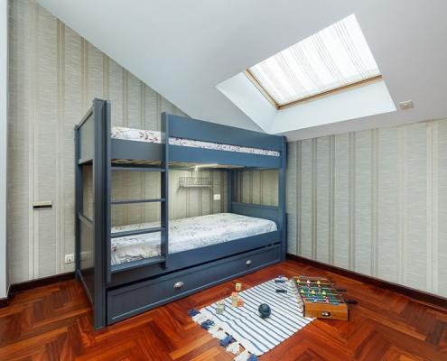 dormitorio literas alejandraotero interiorismo home staging vigo